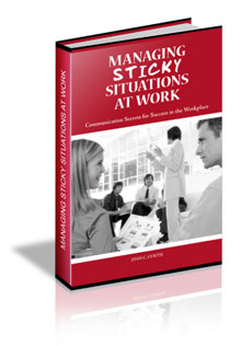 Managing Sticky Situations At Work